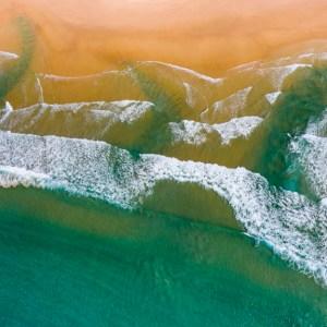 Three Rips- Aerial Artwork