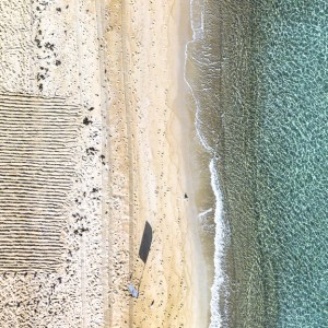 Beach Bliss - Aerial Artwork