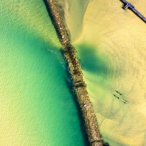 Sea Wall - Aerial Artwork