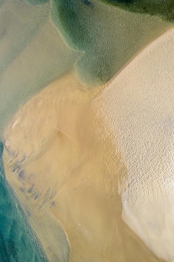 Sea of Love - Aerial Artwork