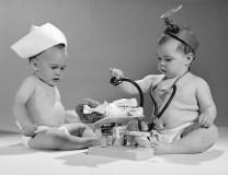Image result for vintage doctor child