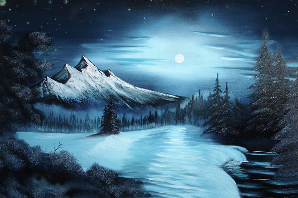 Famous Northern Lights Paintings