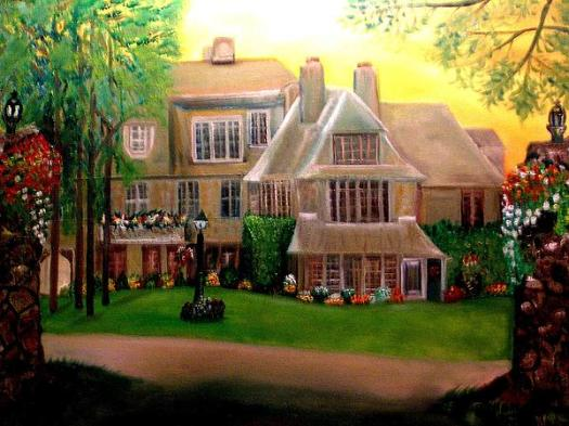 House Painting Home Sweet By Bernadette Charles