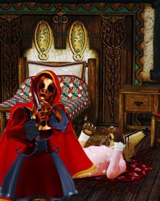 Dread Riding Hood by Paul Gurcules
