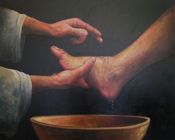 Image result for washing Jesus feet