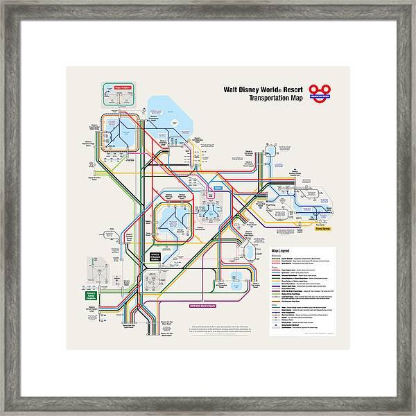 Amazing Disney World Transportation Map Pics - Printable Map ...