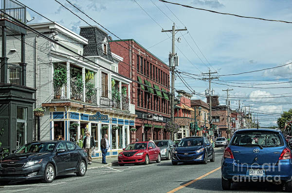 Main Street In Magog Quebec by Tatiana Travelways