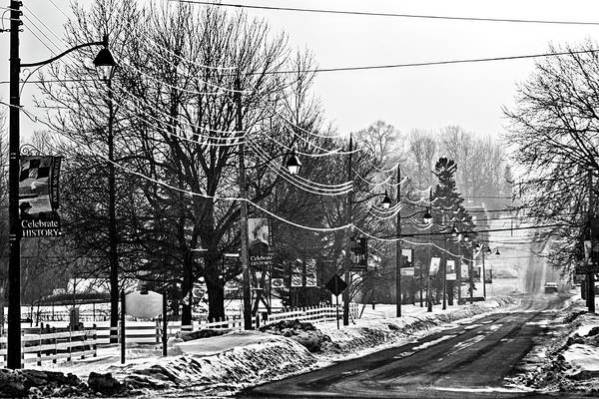 Winter Beautiful - Black And White Photograph by Tatiana Travelways