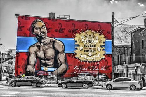 Ezzard Charles Mural