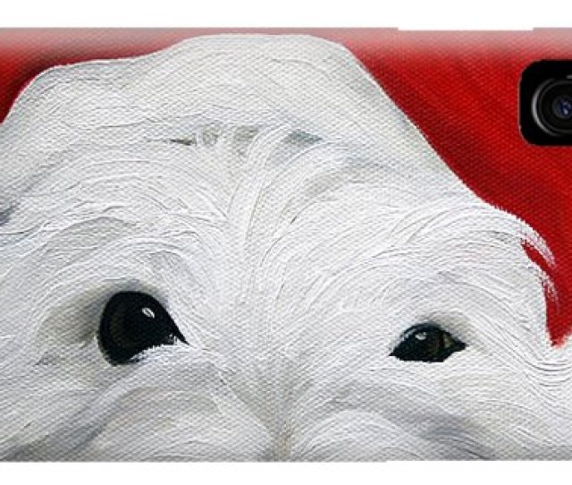 Dog Christmas Cards Iphone Case Bah Humbug By Mary Sparrow