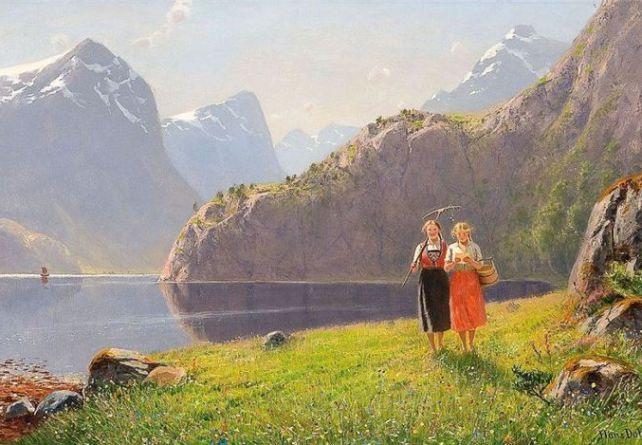 Norwegian_artist_painting