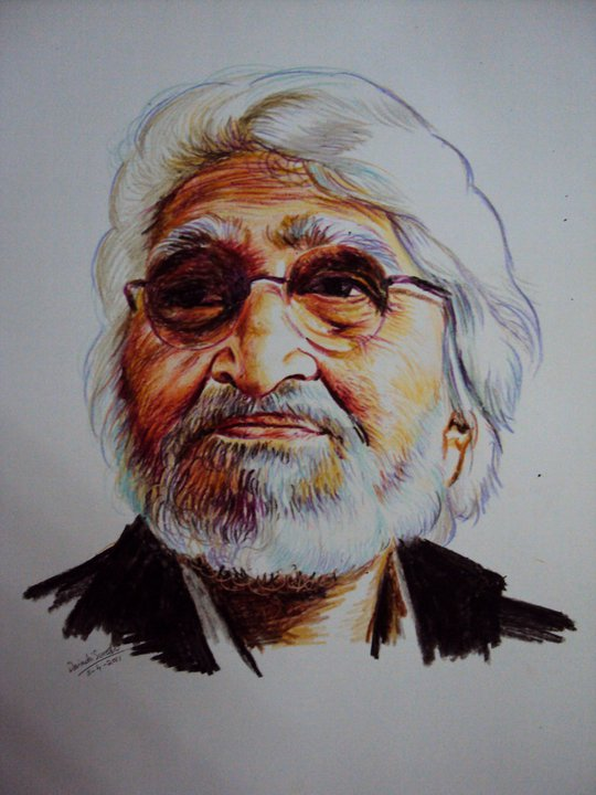 Amazing Crayon Portrai...M Images
