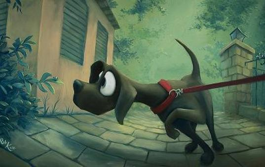 dog-cartoon-painting