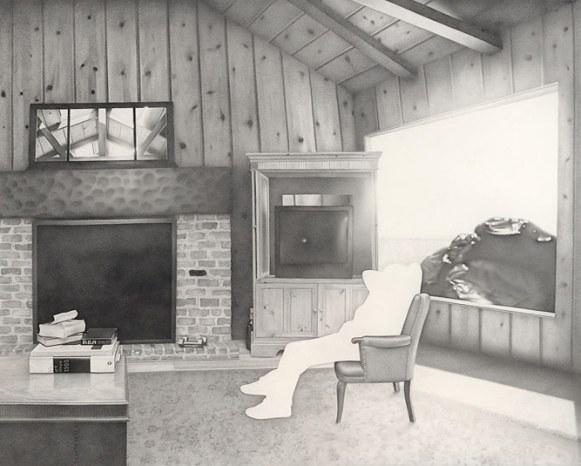 room-pencil-drawings