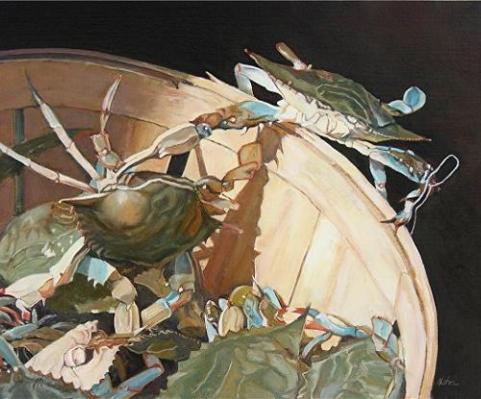 sea-crab-painting