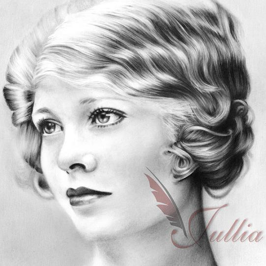 pencil drawing hair