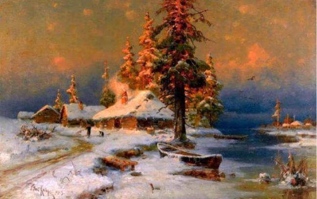snowfall-paintings