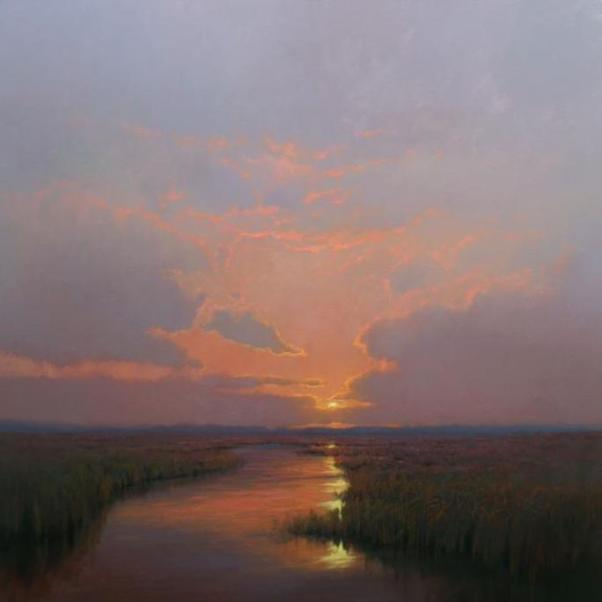 plein-air-sunset