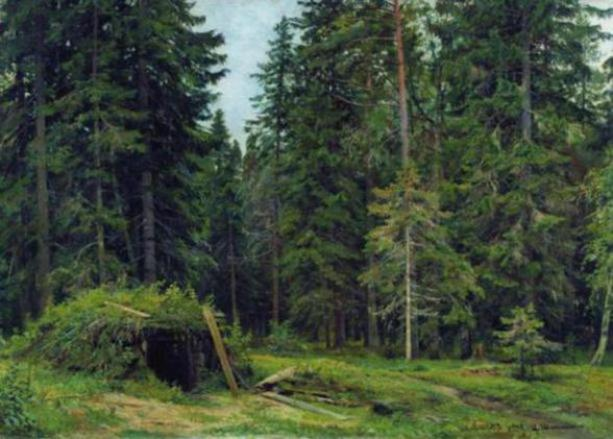 Ivan_Shishkin_technique