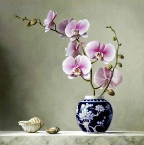 orchid-oil-paintings