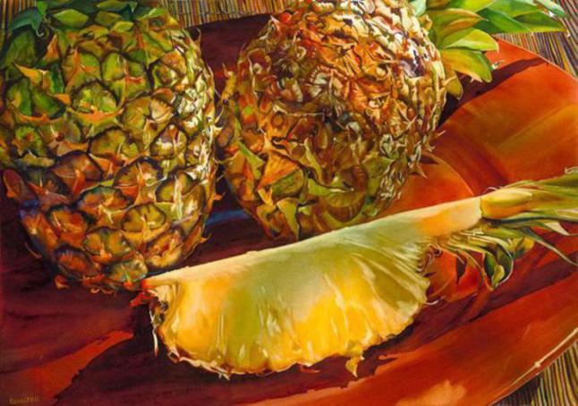 paintings-pineapple