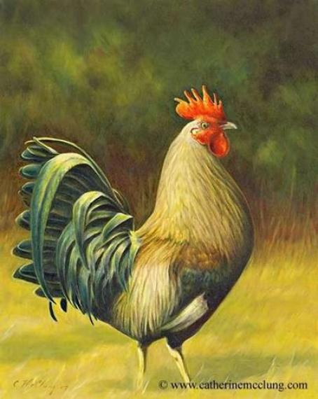 how-to-paint-rooster