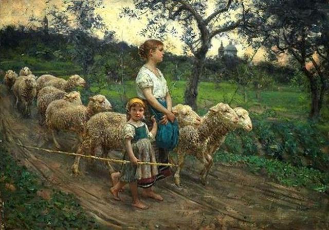 oil-paintings-sheep
