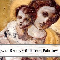 How To Remove Mold From Canvas Paintings