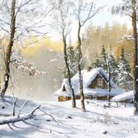 Amazing Winter Paintings By Famous Artists