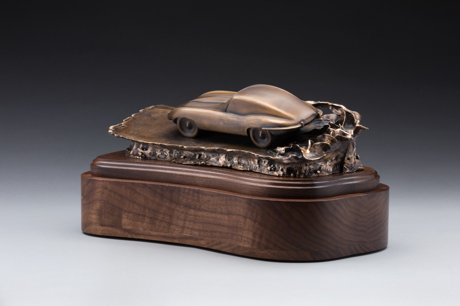 The Leaping Cat: Jaguar-Inspired Cremation Urn