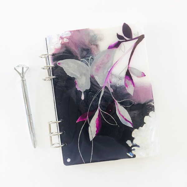 butterfly art scripturient journal