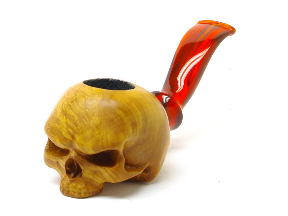 M-017b-hn Half Angry Skull Nosewarmer