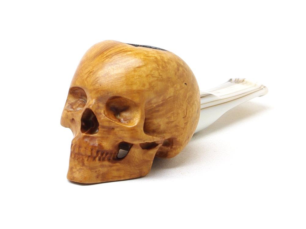 M-018b-n Human Skull Nosewarmer