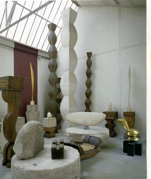 "Fine Arts Week: Vue of ""L'atelier Brancusi Centre Pompidou"""