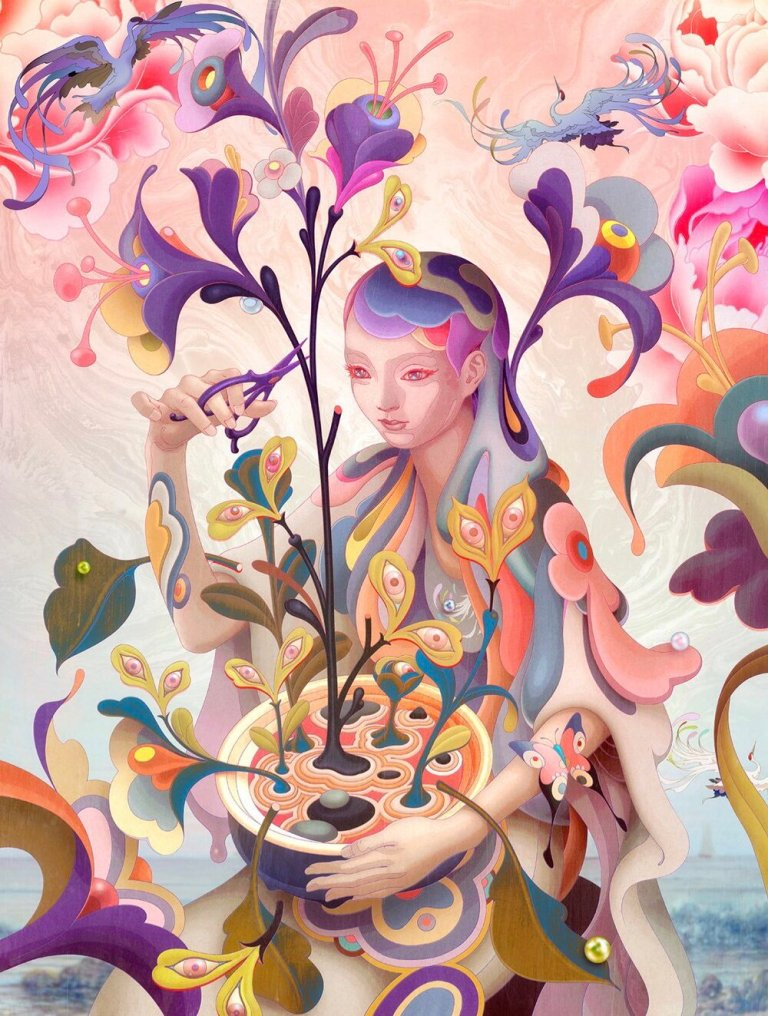 James Jean: Editor Day