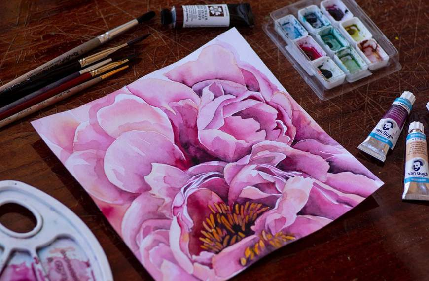 Watercolour Painting for Beginners: A Guide