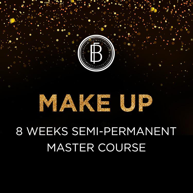 8 Weeks Semi Permanent Makeup Master