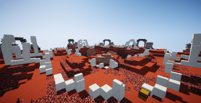 Nether – Skywars map