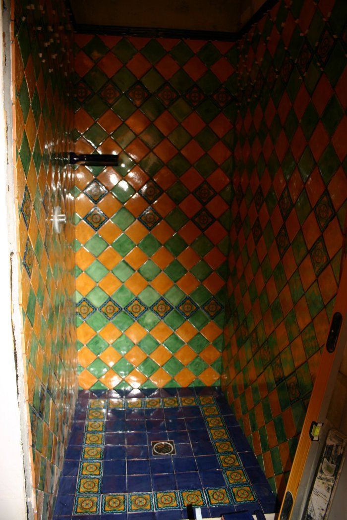 Mexican Tile In The Shower Mexican Home Decor Gallery