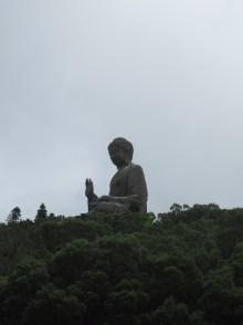 Giant sitting Buddha.