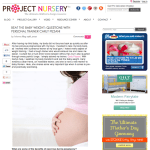 Featured on Project Nursery – Beat the Baby Weight