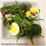 Recipe – Bacon & Eggs Salad