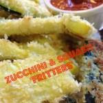 Recipe – Zucchini & Squash 'Fritters'