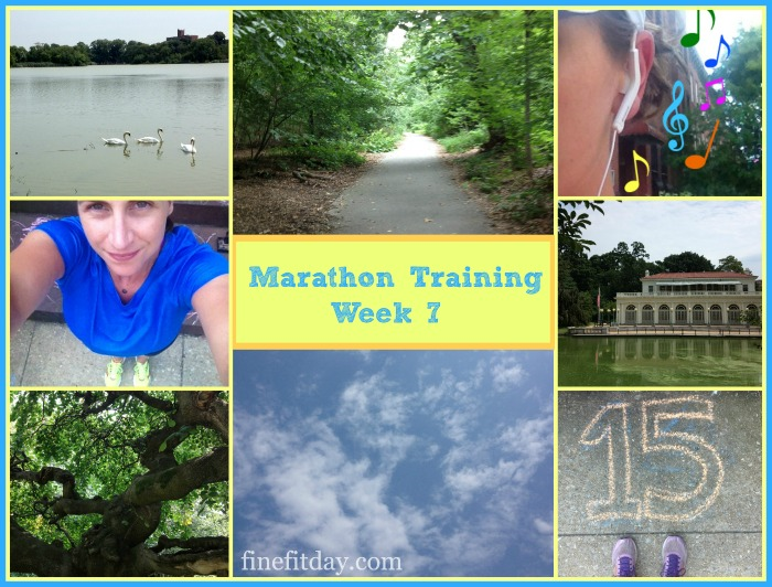 Marathon Training Week 7 Update - Feeling Negative