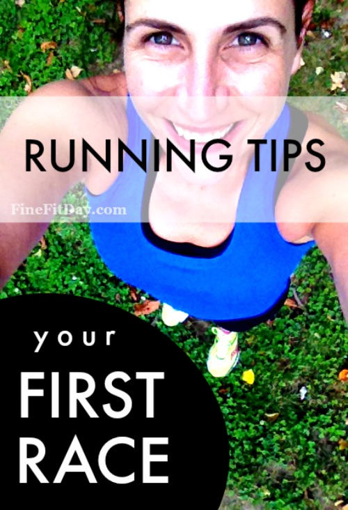 Lots of great running tips on preparing for your first race!