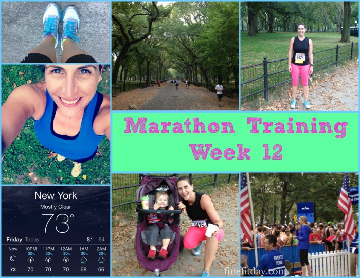 Marathon Training Week 12 Update