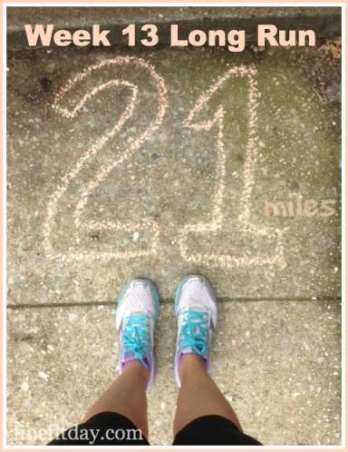 Week 13 Long Run
