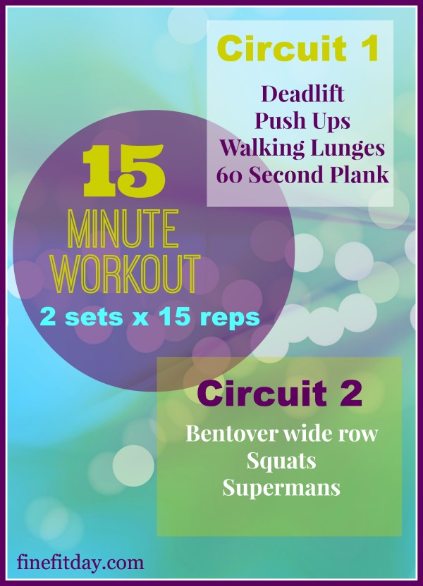 15 minute workout #1