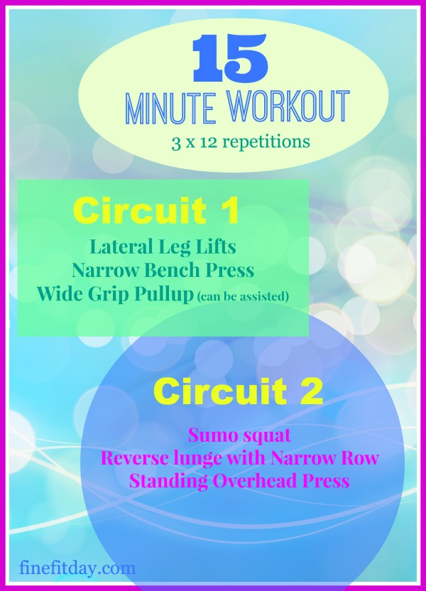 15 minute workout #2