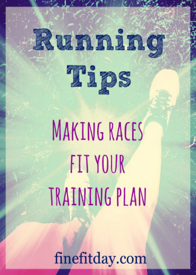 Running Tips - Making Races Fit Your Training Plan. When you have a goal race for the season, it can be tricky to work out how to incorporate shorter, or fun races into your training schedule. Here are some tips and tricks for making short road races work for your running training plan.